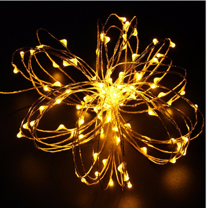 New Premium 10m 600LM Christmas Decorative Warm Color LED String Light, LED Christmas Tree Light