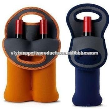 Neoprene Portable Bottle Cooler Bag Wine Tote Champagne Holder