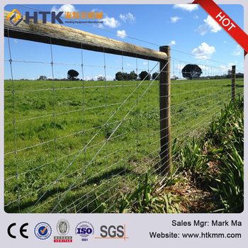96inch Heights Fixed Knot Woven Wire Fence,Livestock Fencing ...