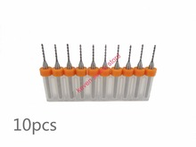 10pcs/Set 0.1mm High Quality Hard Alloy PCB Print Circuit Board Carbide Micro Drill Bits Tool 0.1mm for SMT CNC