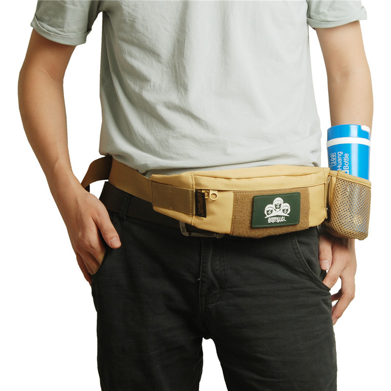 Custom military sport cell phone waist pouch belt hip bag for running