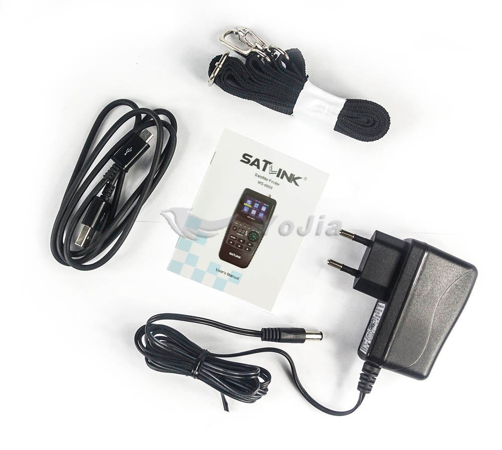ของแท้ Satellite Finder Satlink WS-6933 DVB-S2 FTA C & KU Band Digital Receiver