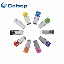 Alta calidad al por mayor giratoria controlador Flash USB logotipo personalizado disco Flash USB
