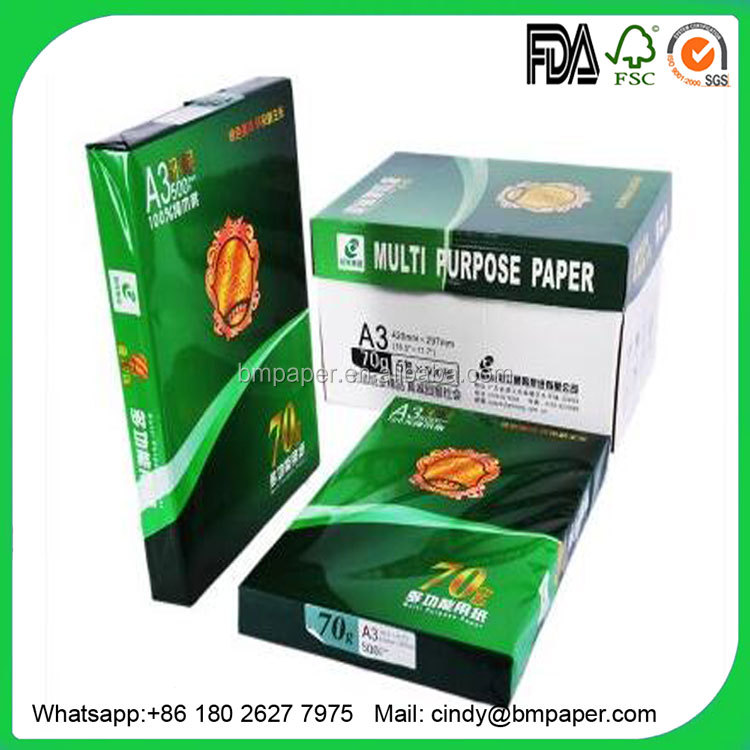 High quality multi-purpose letter legal A4 size copier paper manufacturer