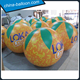 Full printing led lighting inflatable oranges / Custom fruit orange balloons