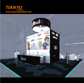 Exhibition Stand Wall : Specail store room exhibition stand aluminum trade show booth