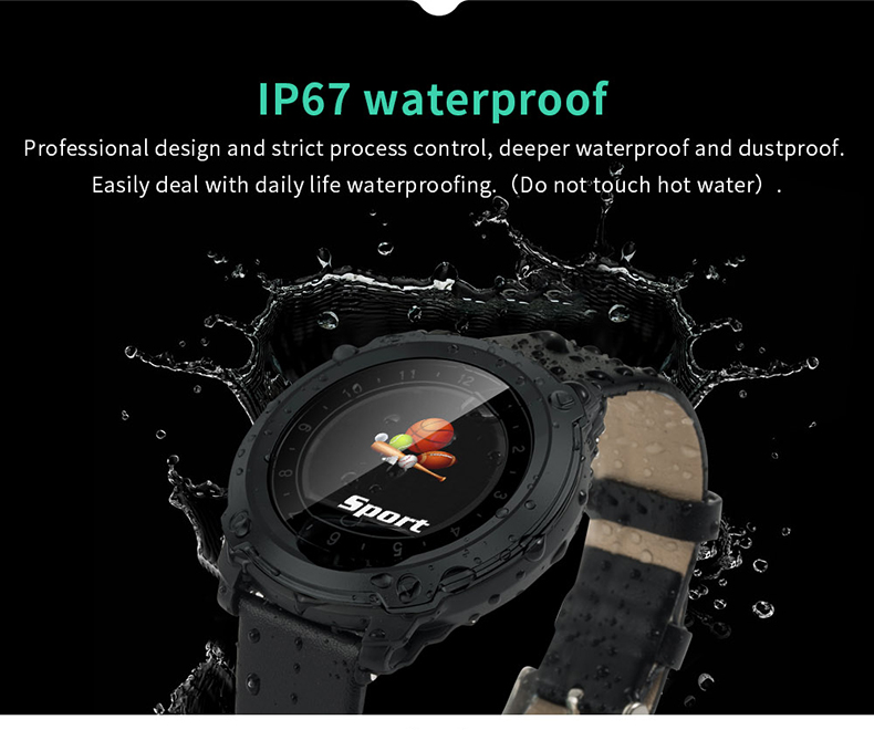IP 67 Wrist Blood Pressure Monitor Sport Smart Watch 160mah Blood Pressure Monitors New Smart Watch