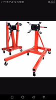 cheap foldable 2000lbs engine repair stand with CE garage tools