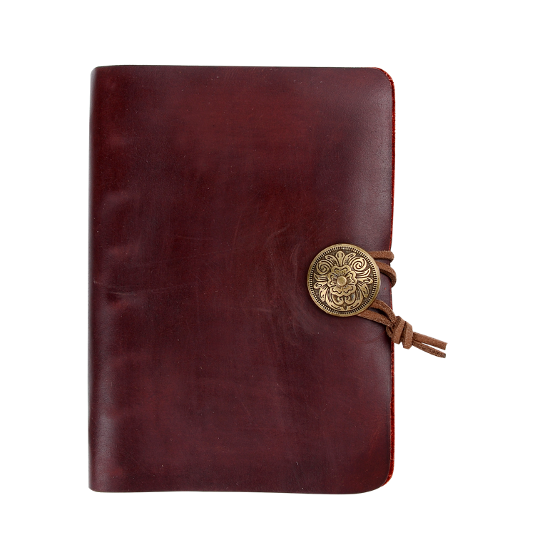 Personalisable diary leather big elastic band design your own notebook