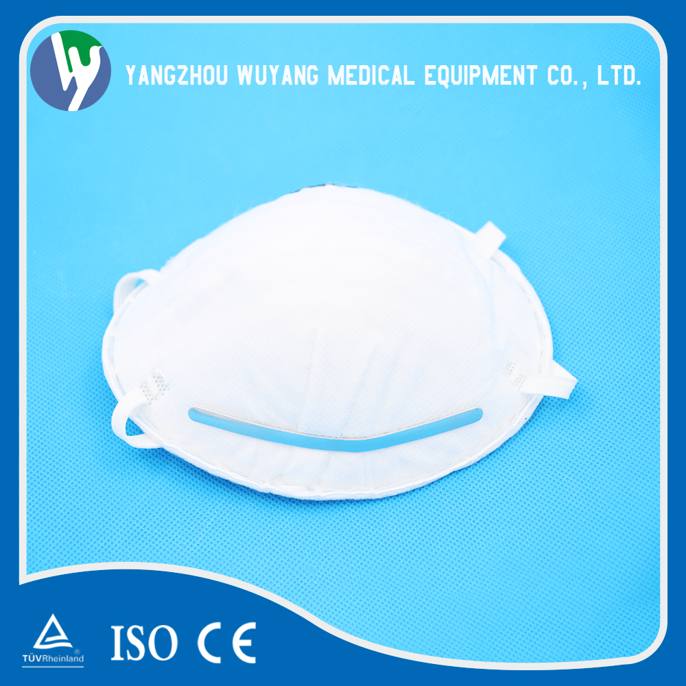 N95 disposable dust respirator mask anti fog and dust n95 face mask