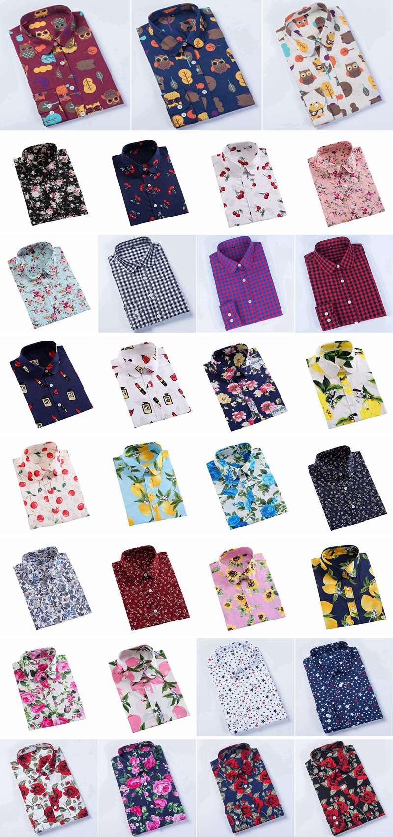 Vrouwen Lange Mouwen Button Shirt Slim Back Pocket Shirt Slim Fit Button Down Casual hawaiian polo shirts goedkope rugby