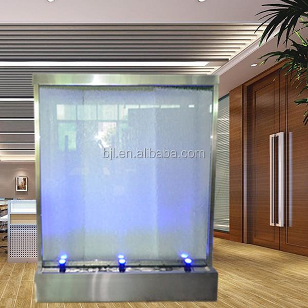 Suelo cascada artificial interior cascada de vidrio para for Caidas de agua para jardin