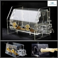 Laboratory Sealed Acrylic Glove Box Price