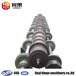 concrete cement 10m telescopic pole making machine from china