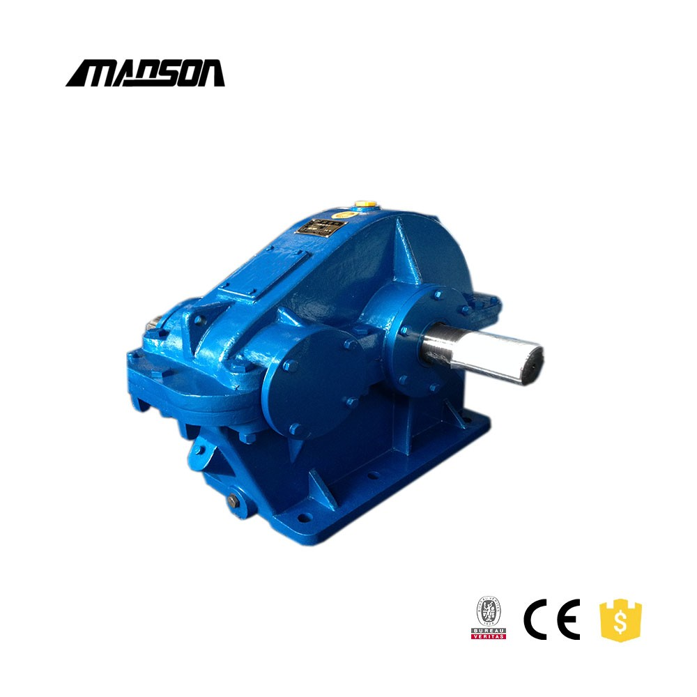 Made in China high power soft tooth cylindrical gearbox reducer