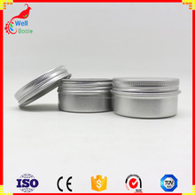 round containers 50ml 100g aluminum screw top tin AJ2-55A