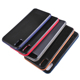New groove leather blank case pc tpu for iphone 7 8 x xr max double colors