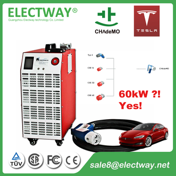 Electway Chademo Chr 60t 60kw Tesla Super Charger Buy Ccs Fast
