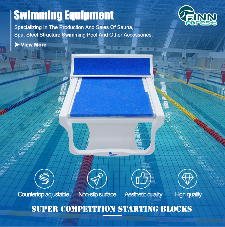 New Launched Match RNA Standard Removable Starting Blocks In Swimming
