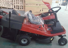 Self- propelled lawn mower imports/hay cutter with adjustable cutting height