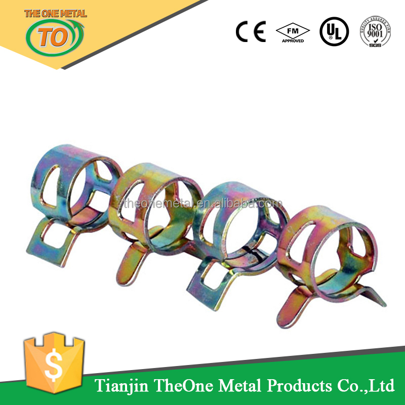 65Mn Spring Steel Spring Pipe Clamp Metal Clamp Ring