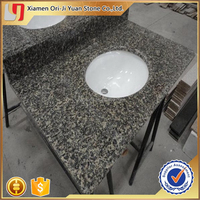 Quality manufacture steel grey granite countertop