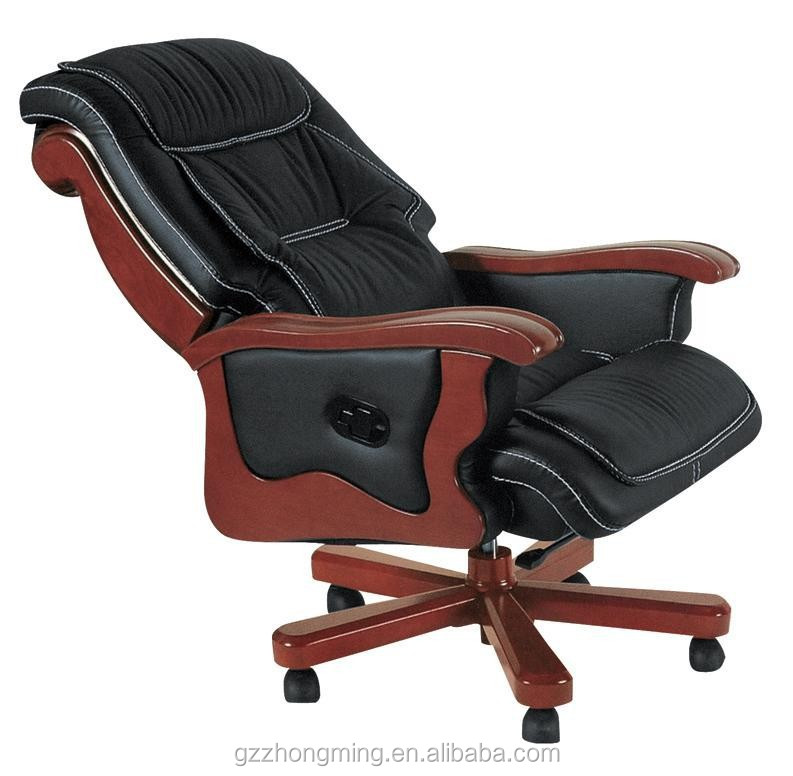 Luxury Wooden Executive Office Chair, Luxury Wooden Executive ...