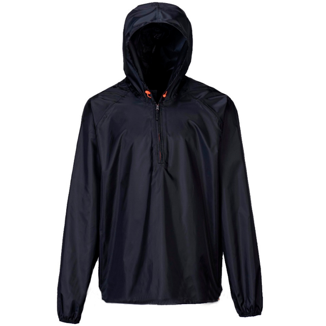 Light Weight Waterproof Polyester Mens Spring Summer Navy Rain Jacket Motorcycle Outerwear