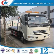 2017 high quality tow truck, flat bed towing truck for sale