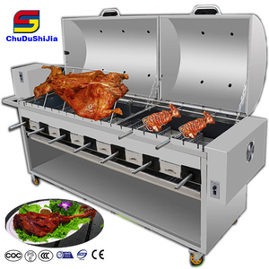 Kebab charcoal grill lamb rotisseries barbecue grill machine