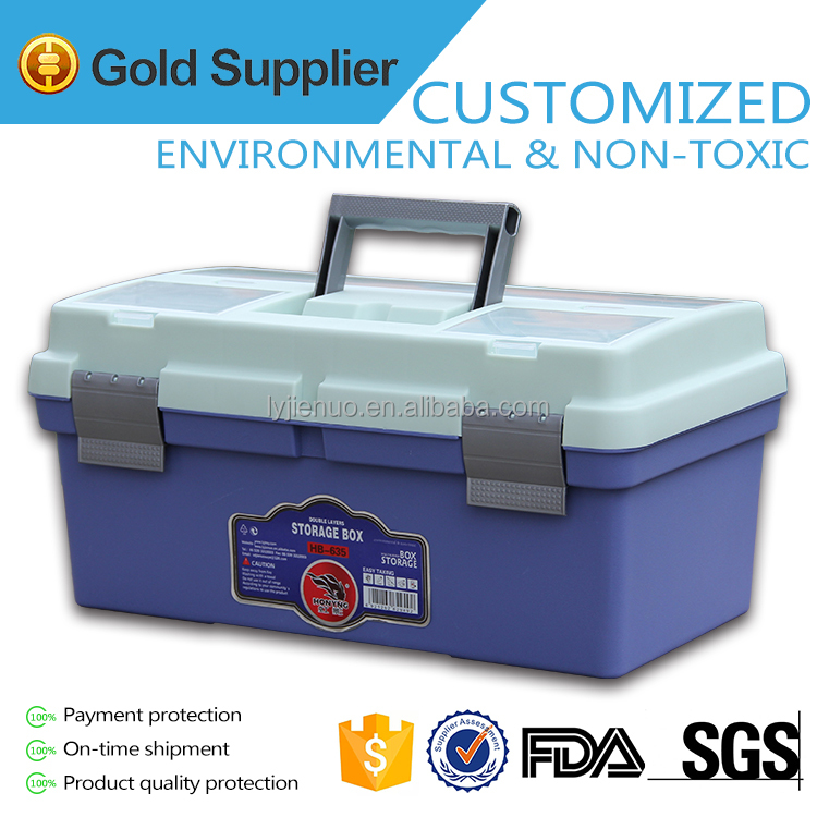 multi function tool box <strong>plastic</strong> with drawers for fishing tools HB 635