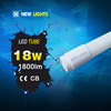 CE ROHS UL approved 300 degree glass led t8 tube light