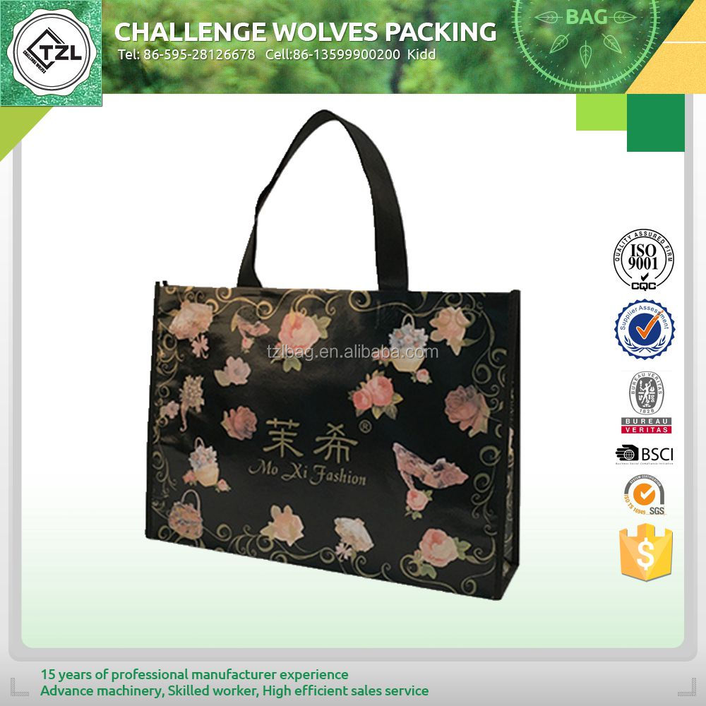 Wholesale reusable shopping bag