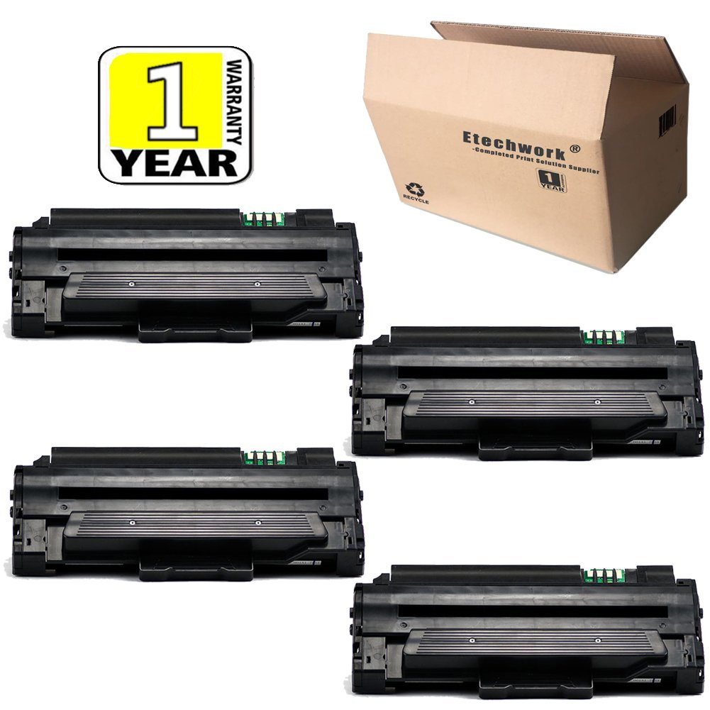4PK MLT-D105L MLT-D105S Toner cartridge Compatible For Samsung SCX-4600 SF-650