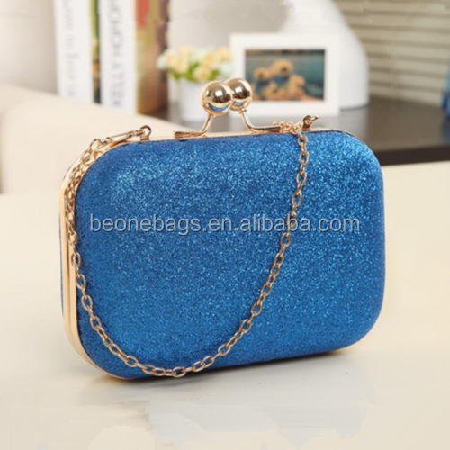 Hollywood hot selling Women Fashion Crystal Bridal Purse Evening Party Wedding Clutch Shoulder Bag