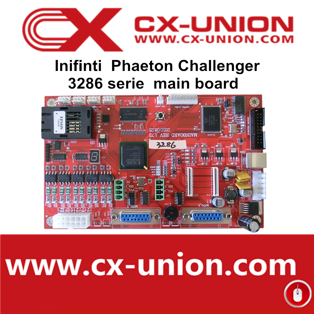 Challenger/Infinity Printer parts Mother Board for USB system fit all spt508GS printhead printing machine