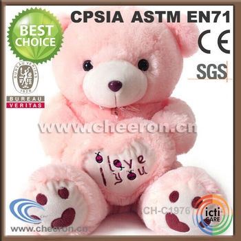 Valentine Day S Gifts Big Size Big Teddy Bear Huging Pink Heart