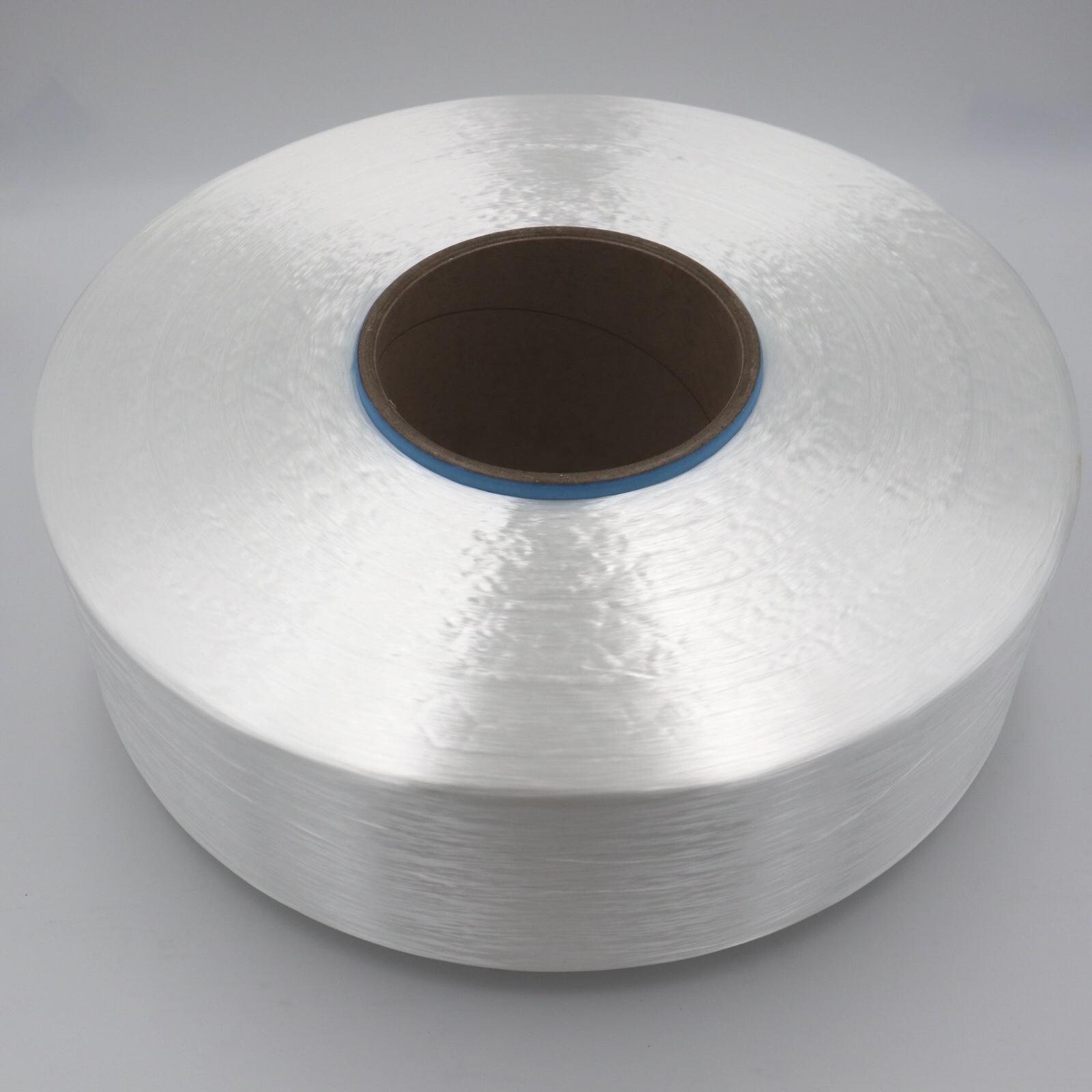 Có độ bền cao polyester FDY sợi 1000D/216F cho dây giày đàn hồi dây