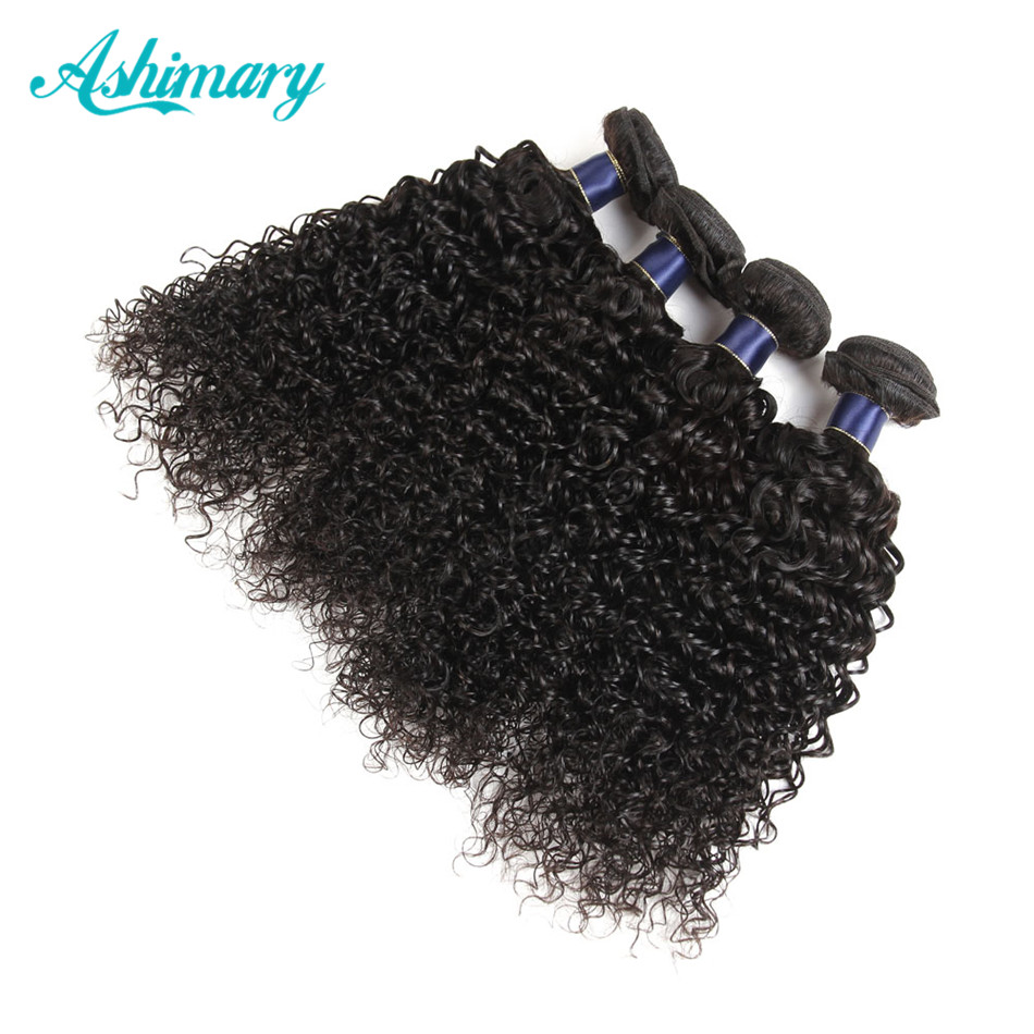 afro kinky curly brazilian bundles 10A grade 100% human hair extension for black women jerry curly weave hair with closure, Accept customer color chart