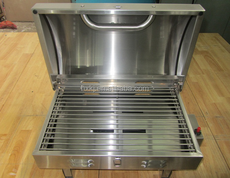 Indoor Gas Grill Cooktop Reviews Range Inch Propane The Outdoor ...