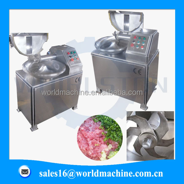 With CE Hot Sale industrial meat bowl chopper machine/meat mincer/ Meat Bowl Cutter