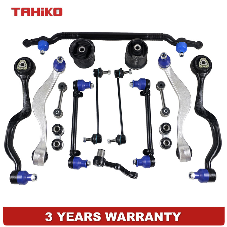 Wishbone suspension Control Arm Bushings Center Tie Rod Assembly Sway Bar Link links Pitman Arms set 31121139988, 31121141098