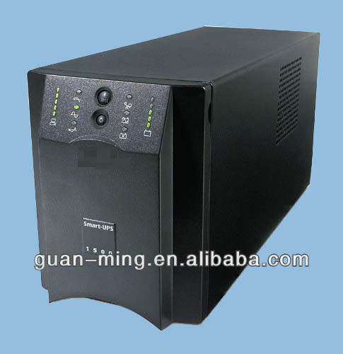 OEM smart online UPS 1.5kva/230v with battery factory price