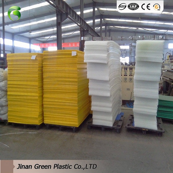 Twin Wall Corrugated Plastic Sheet Turnover Box Blue And