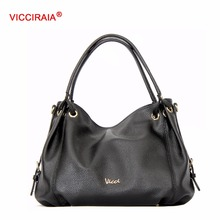 VICCIRAIA Imitation Leather Shoulder Bags Famous Brand Women Bag Lady Crossbody Bag