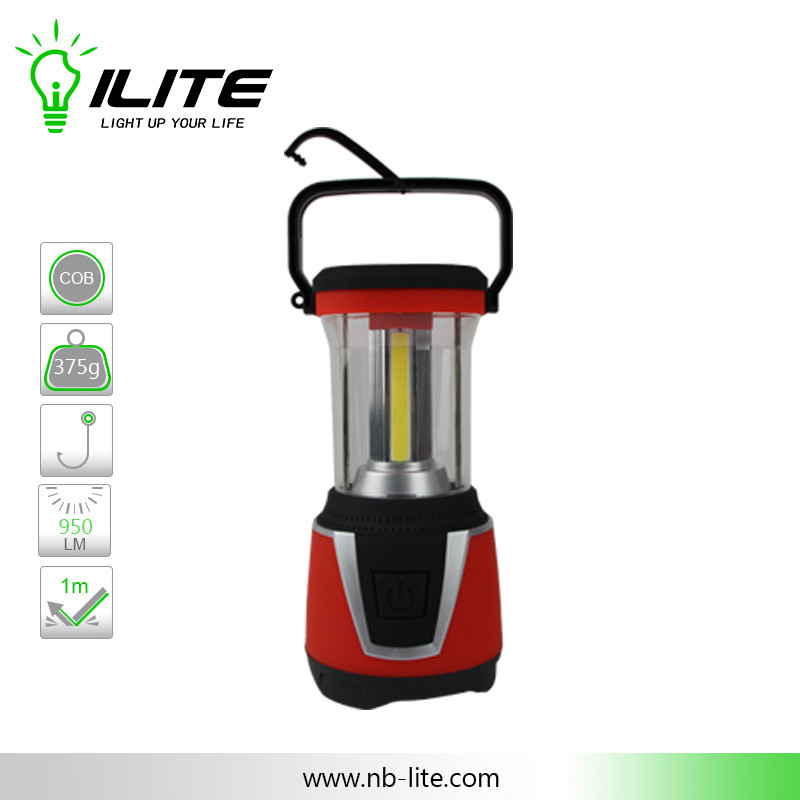 3-sided COB Dimmer Camping Lantern for Outdoor Using
