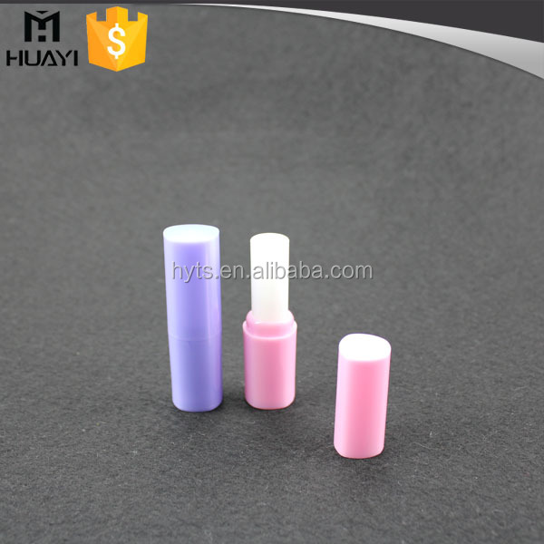 Cylindrical Shape Recycled Plastic Lip Balm Tube For