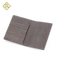 Wholesale Passport Cover Holder Genuine Leather Custom Personalized Passport Holder