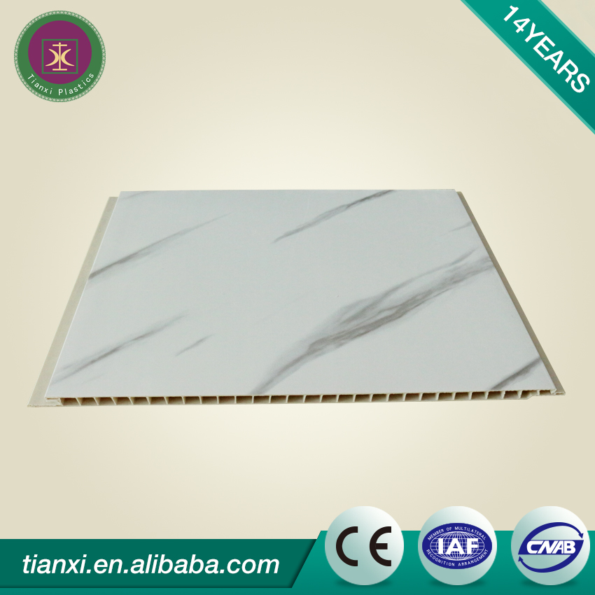 muy bajo precio panel de pared de pvc producidos en la fbrica
