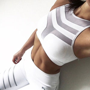 Young Girls Sexy Hot Xxxx Spandex Custom Gym Fitness Yoga Fashion Seamless Womens Sports Bra